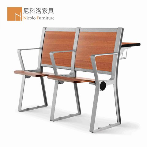 铝合金排椅阶梯教室课桌椅-NCL908