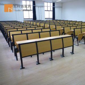 铝合金排椅阶梯教室课桌椅-NCL918