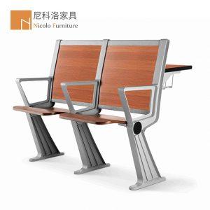 铝合金排椅阶梯教室课桌椅-NCL928