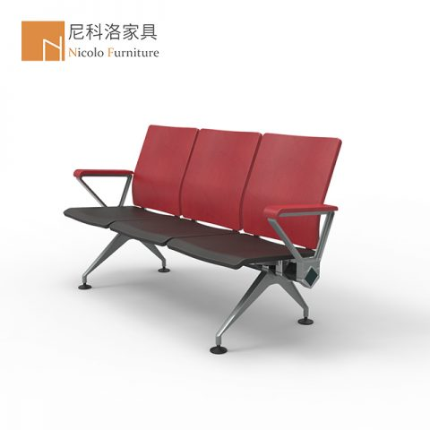 PU机场椅等候椅候诊椅排椅-NCL508