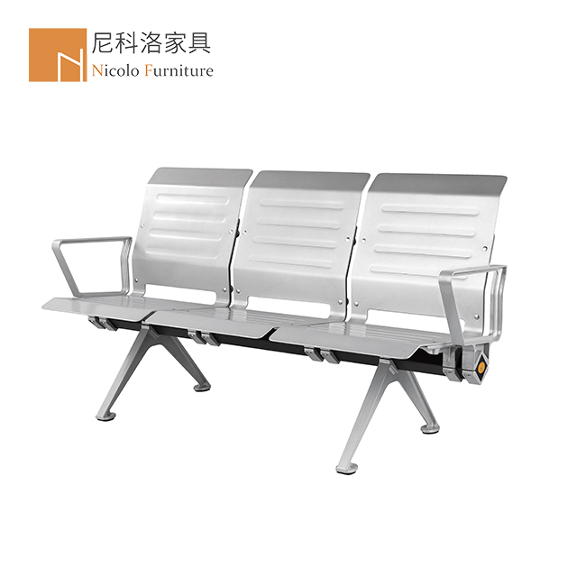 铝合金机场椅/机场椅/等候椅/候诊椅/排椅-NCL-529AL
