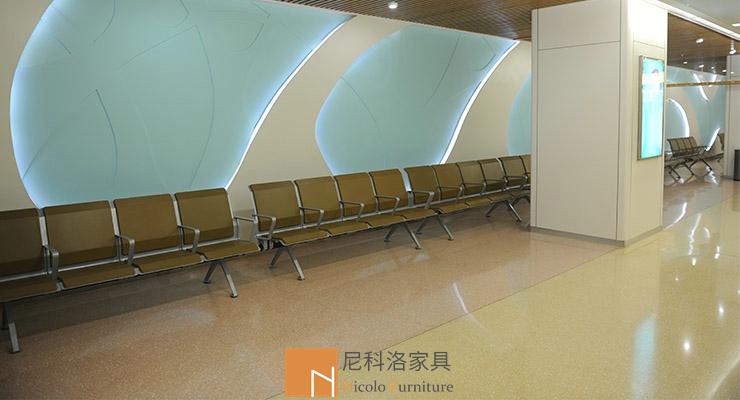 天津第二儿童医PU候诊椅/机场椅案例