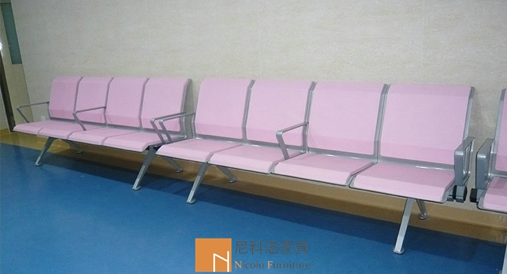 广州妇婴医院PU输液候诊椅/等候椅工程案例